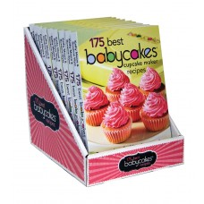 175 Best Babycakes™ Cupcake Maker Recipes: Counter Display Pack