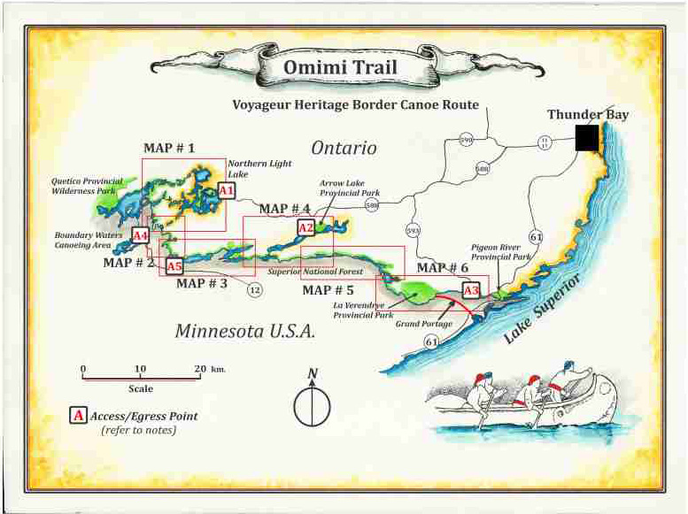 Omimi Trail Map